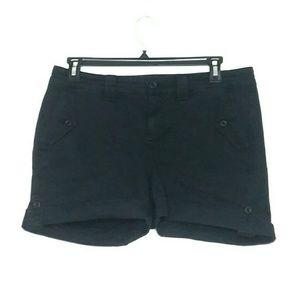 Torrid Size 12 Black Military Short Shorts
